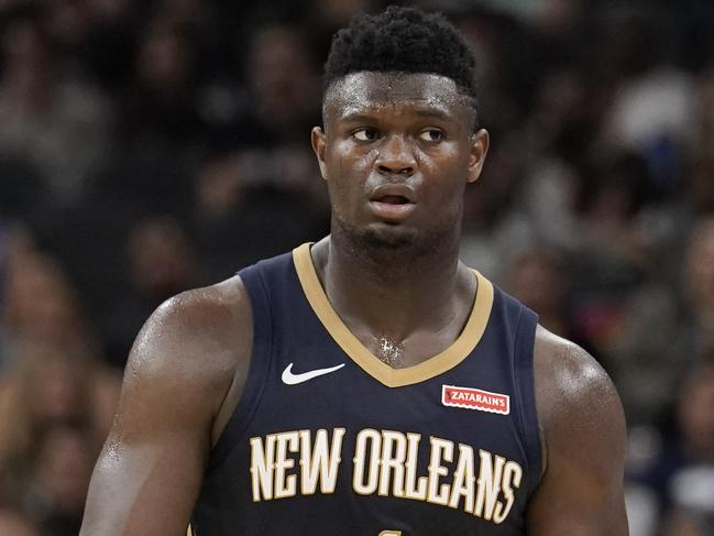 Zion Williamson has hit an awful spell of luck.