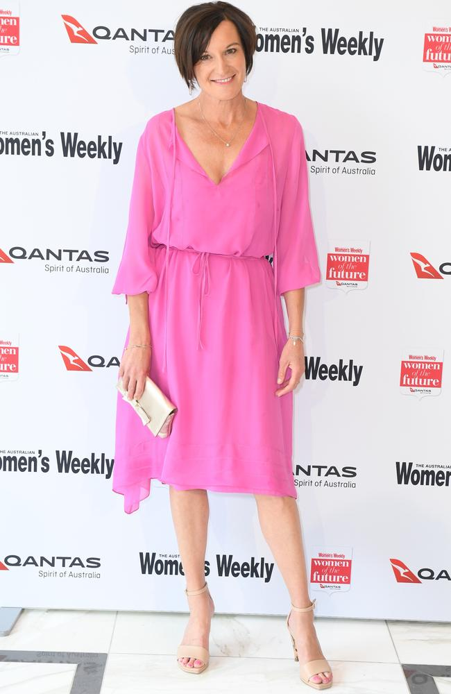 Cassandra Thorburn attends the 2017 Women of the Future Awards in Sydney.