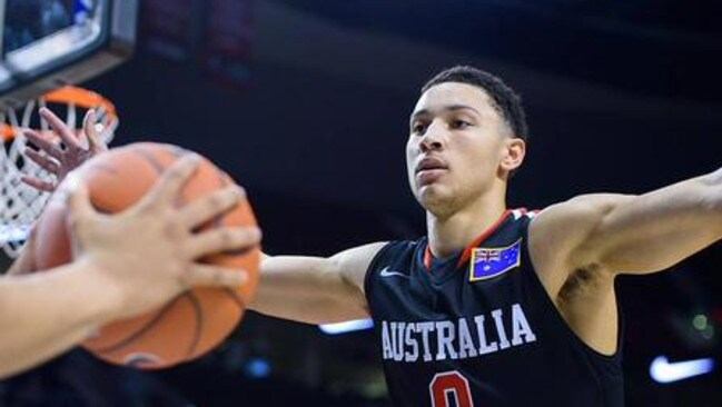 Ben Simmons was voted the best high school basketball player in the US.
