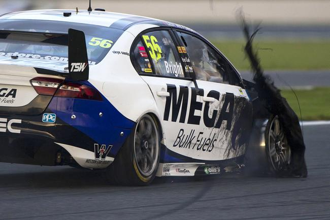 Supercars' Phillip Island round was blighted by tyre failures.