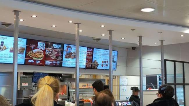 This KFC has been described as 'Britain's roughest KFC'. Picture: BPM/Australscope