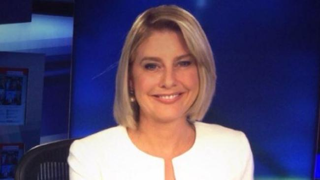 Shut down ... Sky News anchor Vanessa Grimm put the prankster in his place. Picture: Sky News.