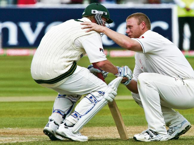 Cricket fans still remember this moment from the 2005 Ashes.