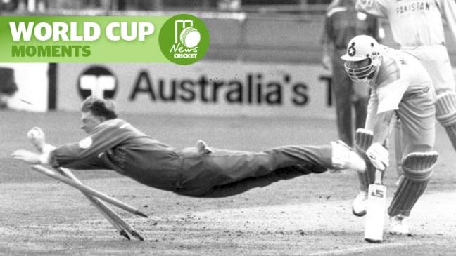 "World Cup Moments - Jonty Rhodes' ""Superman"" dive"