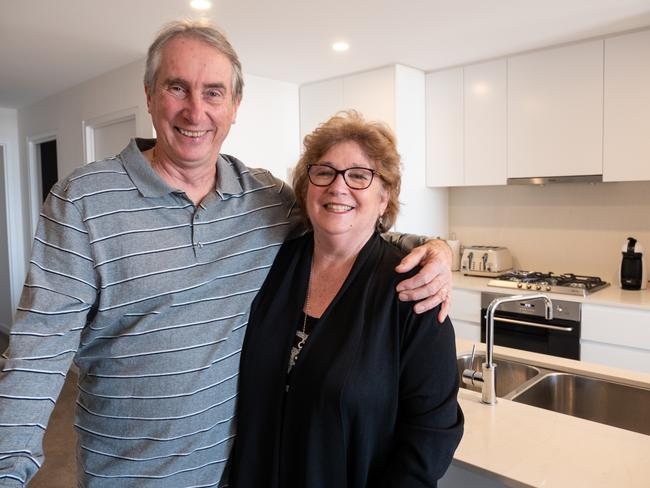 Michael and Michelle Skinner have bought an apartment in Tailor's Walk Botany.