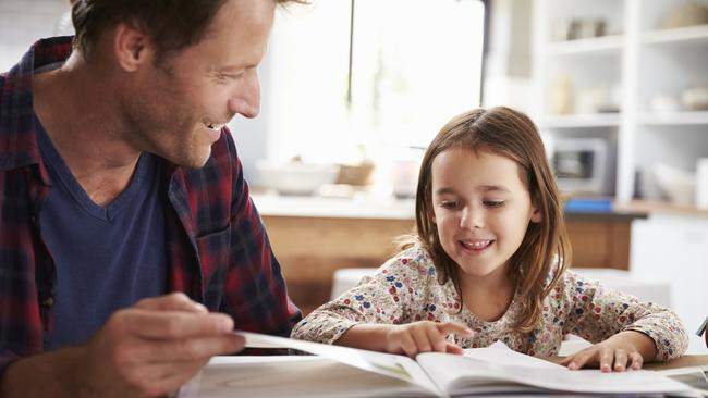 It's pretty simple: Read to your kids.