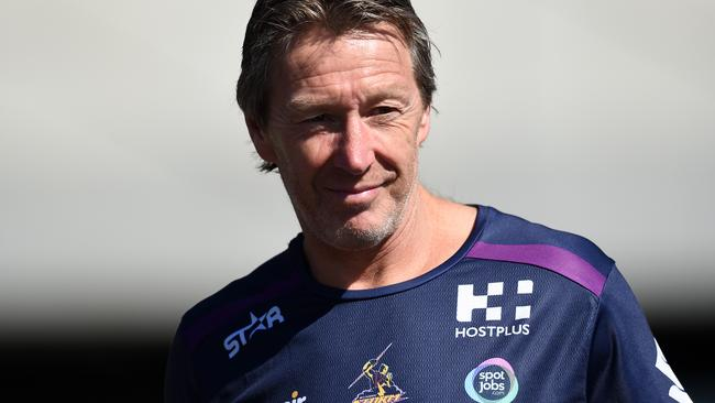 Storm coach Craig Bellamy arrives at the Melbourne Storm member and fan open training session in Melbourne, Wednesday, Sept. 28, 2016. (AAP Image/Tracey Nearmy) NO ARCHIVING