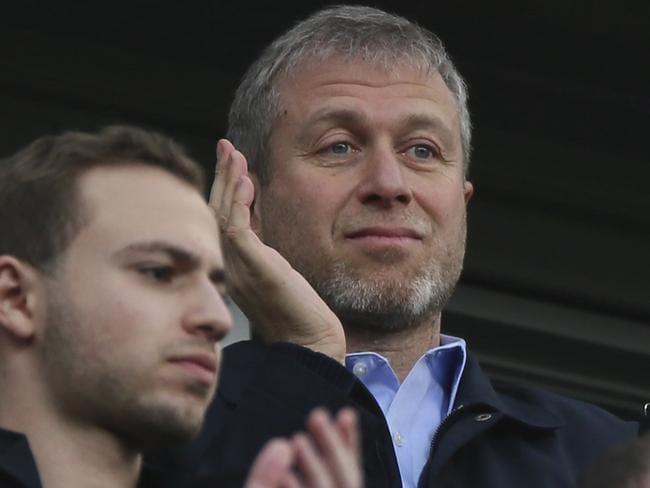 Chelsea's Russian owner Roman Abramovich.