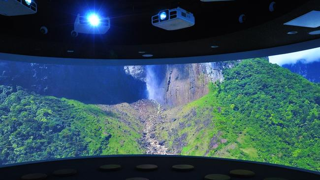 The Imaginarium at Coomera Anglican College's new technology centre can transport students to rainforests, Mars, the Sahara or many more locations.