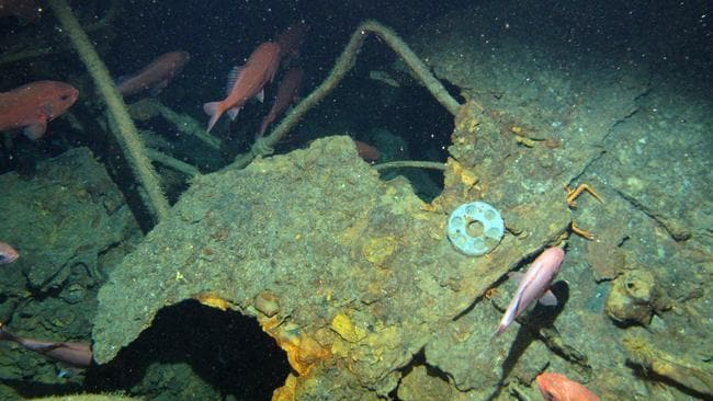 Missing WW1 submarine AE1 found with underwater camera