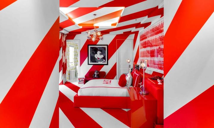 You need to see inside Tommy Hilfiger's wacky home. Trust us.
