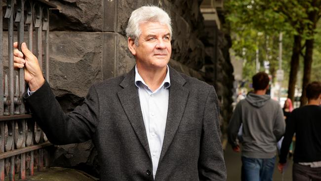 Tertiary education expert Peter Noonan in Melbourne. Picture: Stuart McEvoy