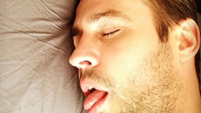 Is your phone stopping you from getting into a deep sleep like this?