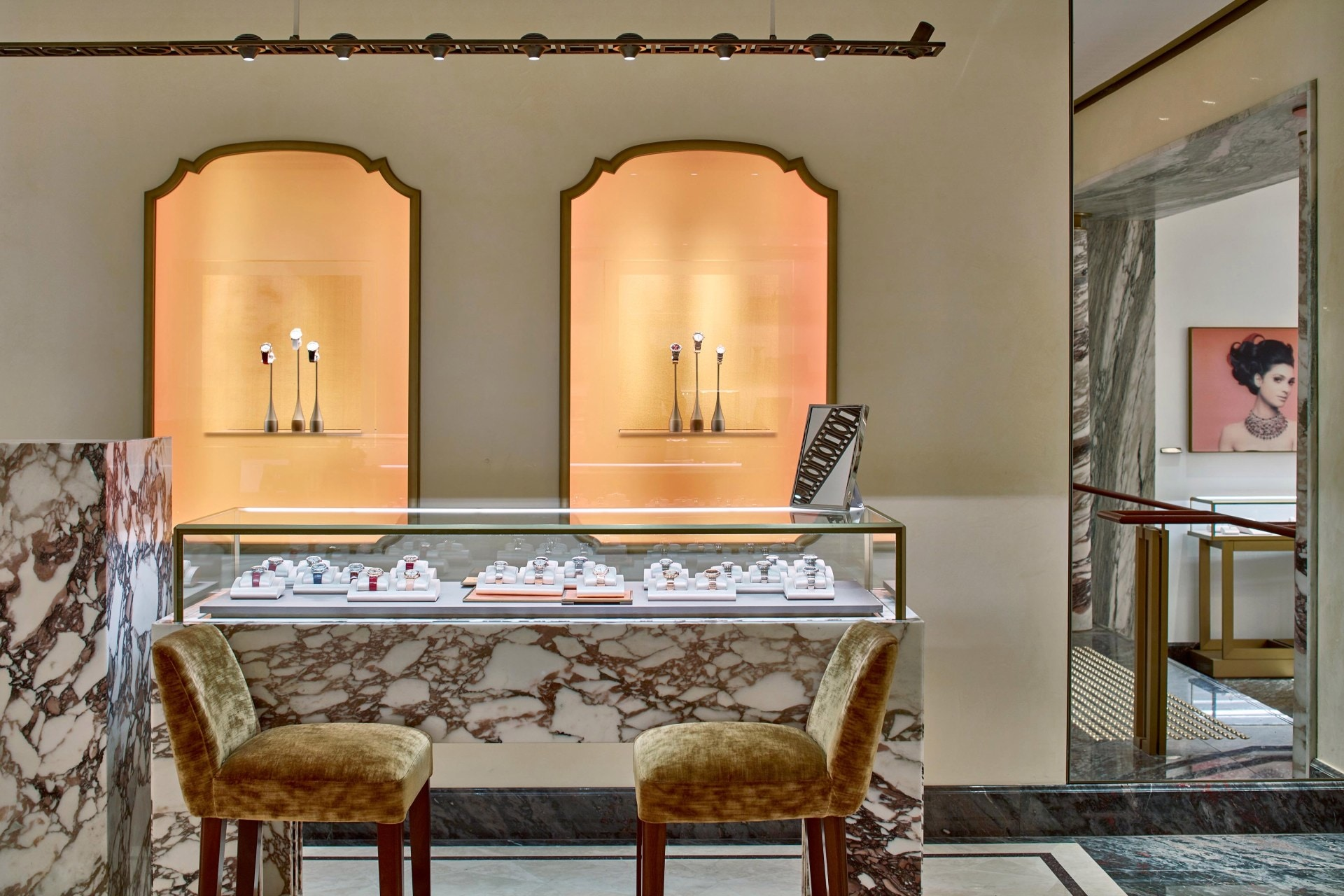 Inside Bulgari's revamped Sydney flagship