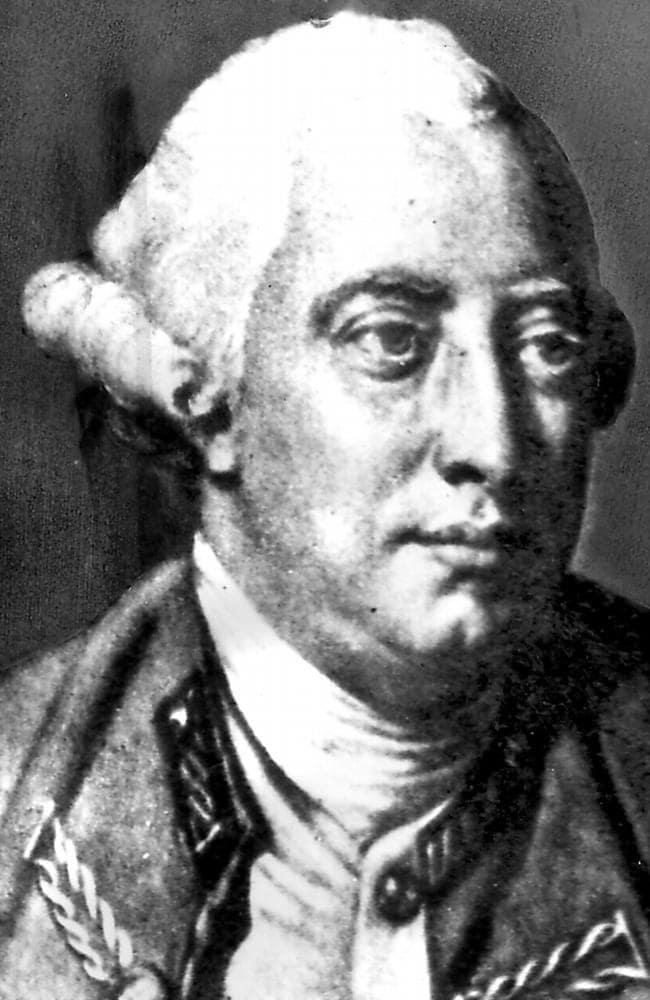 King George III of Great Britain (1738-1820).