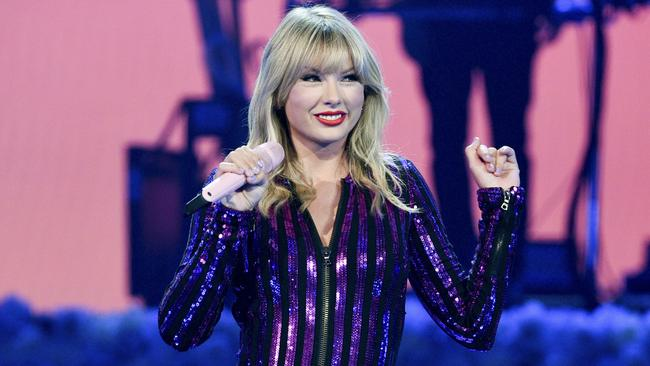 Swift felt undervalued by the bosses at Big Machine. Picture: AP.