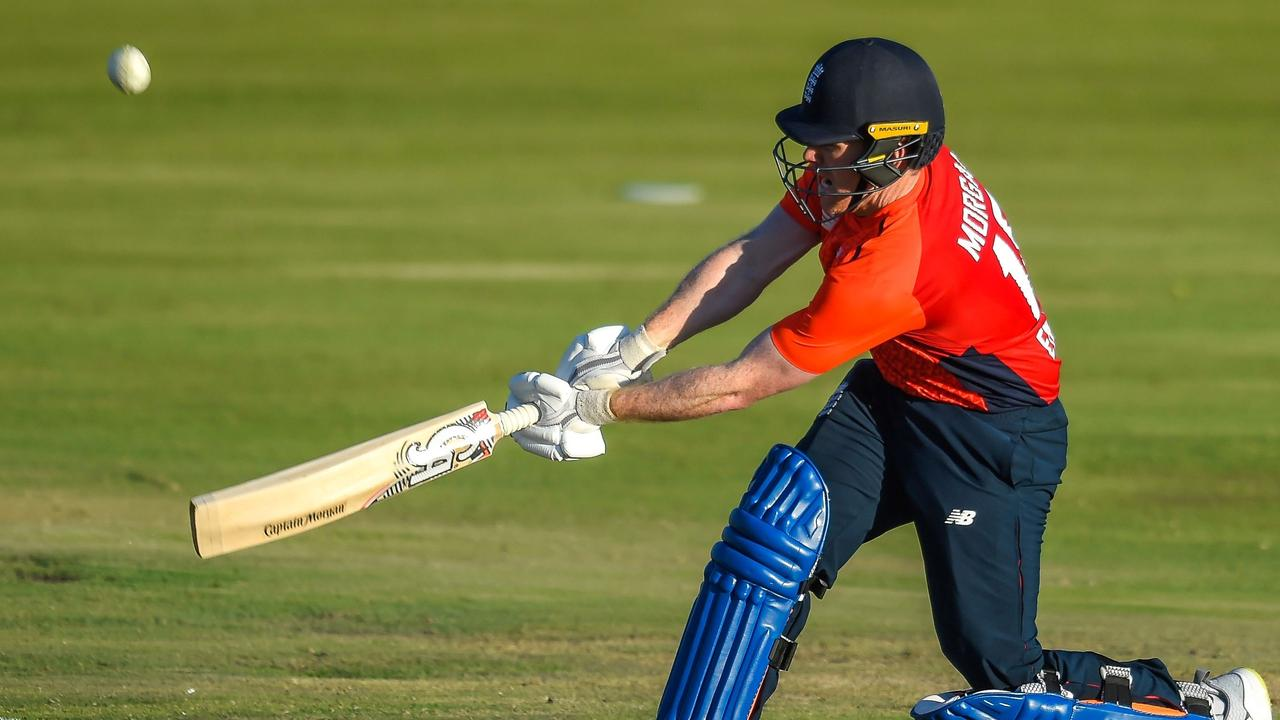 Eoin Morgan hit seven sixes.