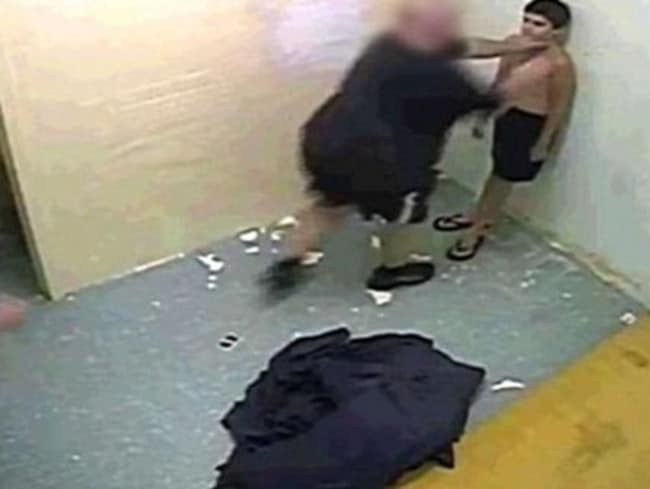 The report showed children being abused by guards at Don Dale. Picture: ABC
