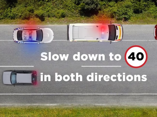 There have been claims the rule is creating more accidents on our highways. Picture: NSW Police Force