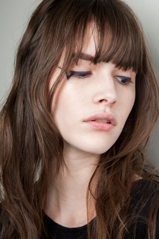 how to cut your fringe at home vogue australia