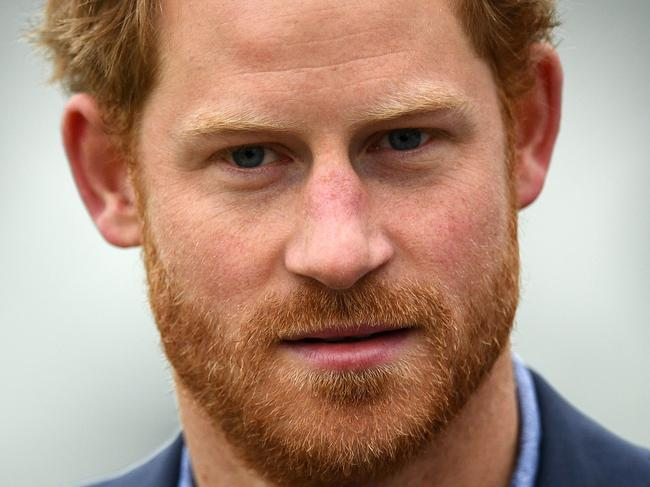 Prince Harry has a deep-seated hatred of the British press, stemming from his childhood and the death of his mother. Picture: AFP PHOTO / JUSTIN TALLIS
