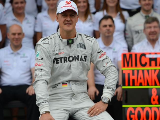 Little is known about Schumacher's condition.