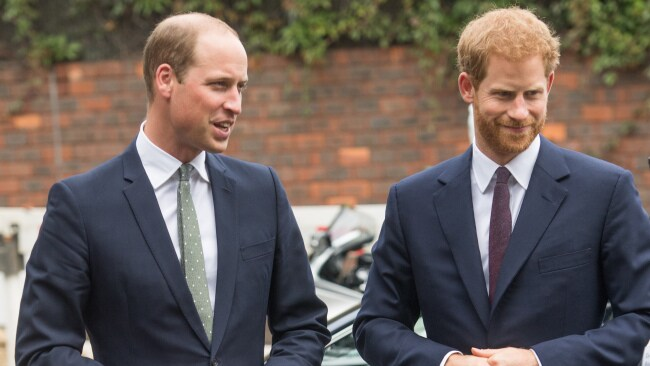 Prince William and Prince Harry. Image: Samir Hussein/WireImage