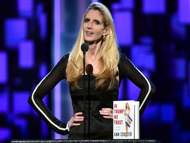 Political commentator Ann Coulter has turned on Donald Trump. Picture: AFP/Getty/Alberto E Rodriguez