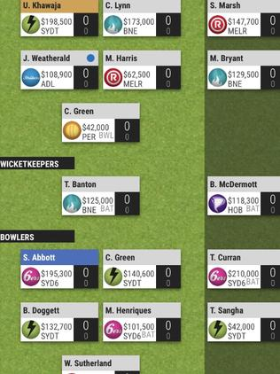 Pending positional changes, this is how the Horne Super Kings will line up in Round 1.