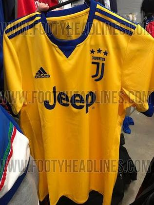 Juventus' rumoured leaked away kit for 17-18.