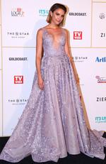 Rachael Finch arrives at the 60th Annual Logie Awards at The Star Gold Coast on July 1, 2018 in Gold Coast, Australia. Picture: Chris Hyde/Getty Images