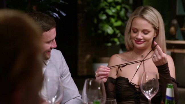 Dan and Jess got together on MAFS and it's reported she's now moved from WA to the Gold Coast to be with him. Photo: 'Married At First Sight'