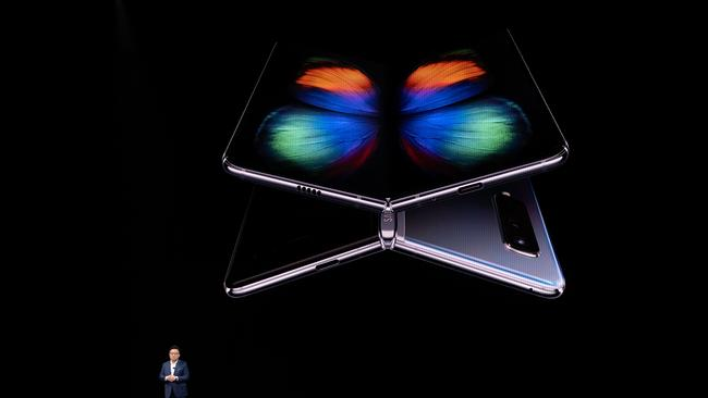 The Galaxy Fold was first shown off at Samsung's Unpacked event in February, and is now finally releasing in Australia.