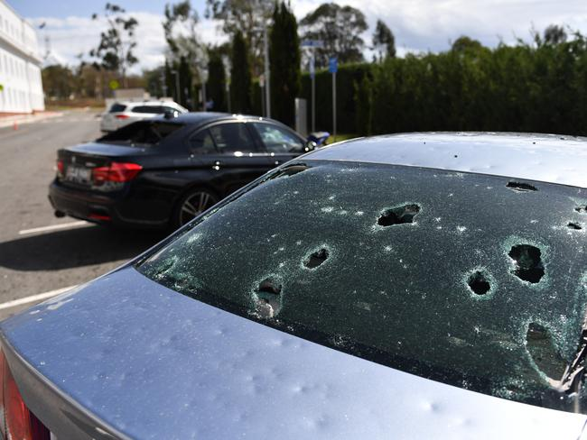 A common site across Canberra, Sydney and Melbourne. Picture: Mick Tsikas/AAP