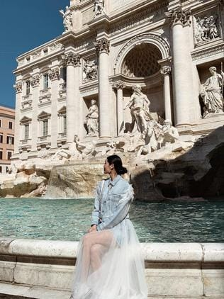What Instagram will make you think the Trevi Fountain in Rome looks like.