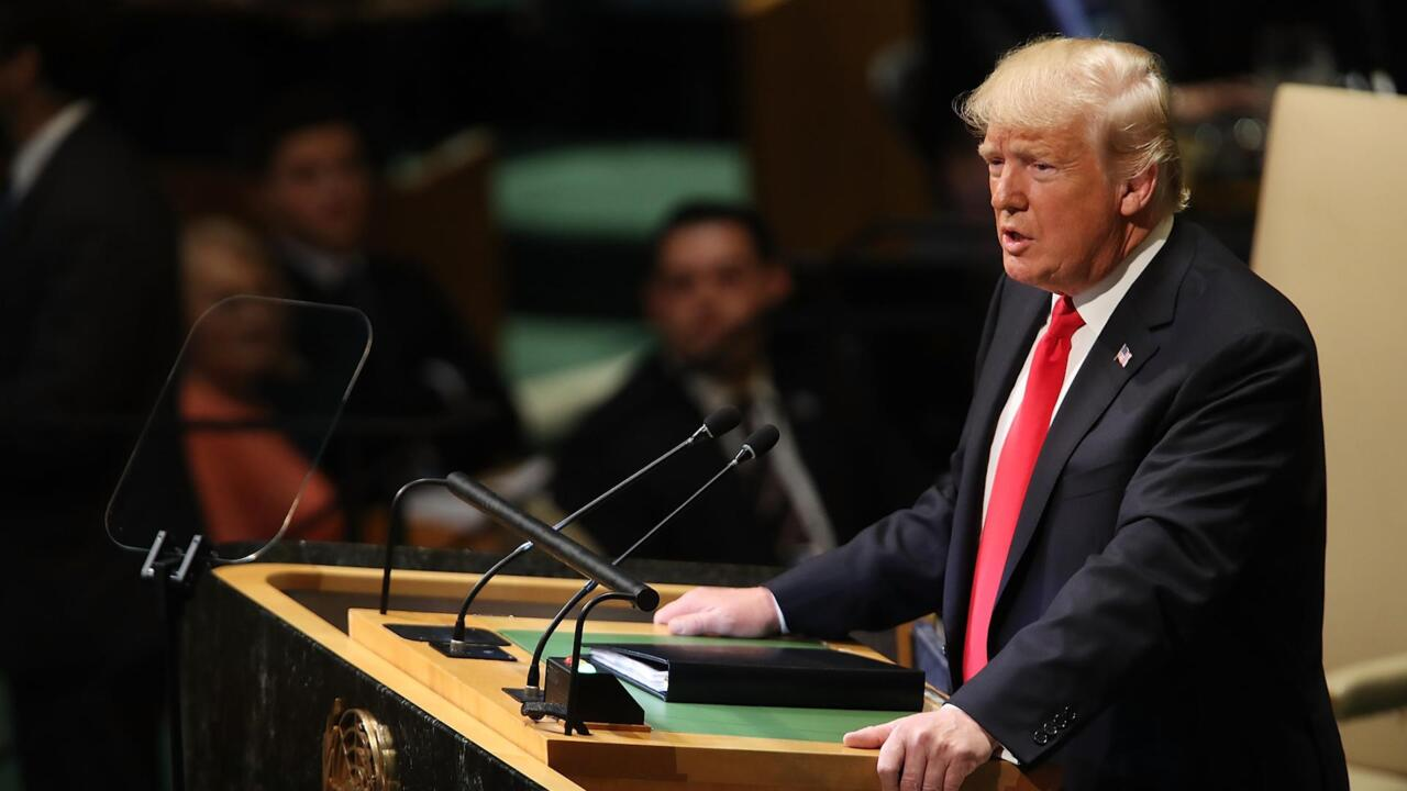 Highlights From President Trump's U.N. Address