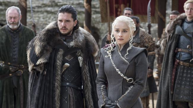Jon Snow and Daenarys Targaryen are facing some uncomfortable truths. Picture: HBO