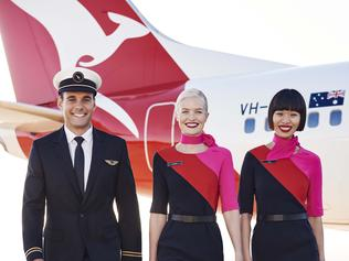 Qantas unveils new pilot's uniform designed by Martin Grant
