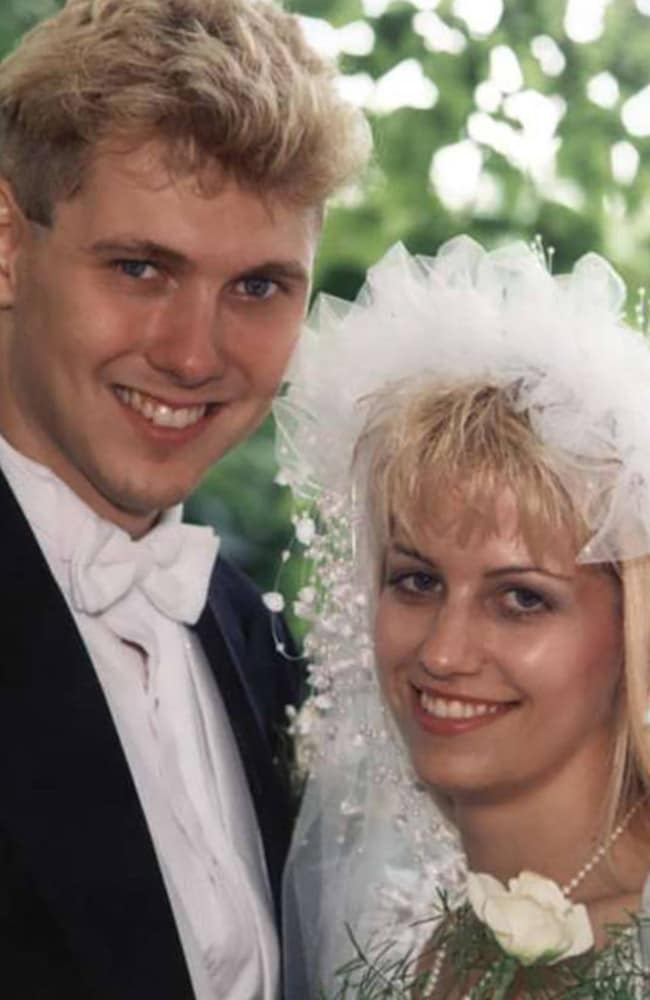 Paul Bernardo and Karla Homolka on their wedding day hours after the dismembered body of a 14-year-old girl they had raped and tortured was found in cement blocks.