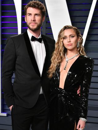 Liam Hemsworth and Cyrus were married for seven months. Picture: Dia Dipasupil/Getty Images