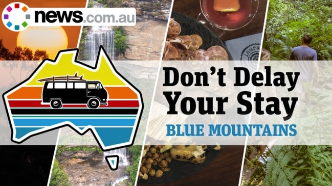 Don't Delay Your Stay: Blue Mountains virtual road trip