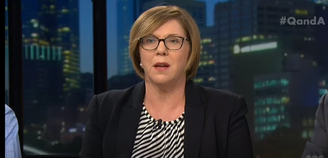 Shadow Minister for Infrastructure Catherine King questioned whether religious freedom reform was necessary. Picture: ABC <b></b>