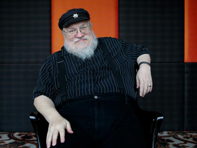 Game Of Thrones the television show has ended but author George RR Martin has promised the books will be different. Picture Cameron Richardson
