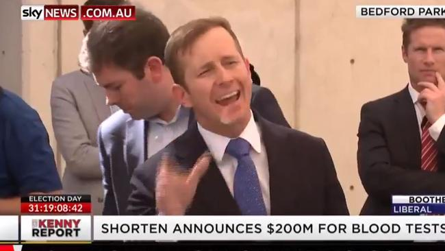 Jonathan Lea from 10 News got into a heated exchange with Bill Shorten.