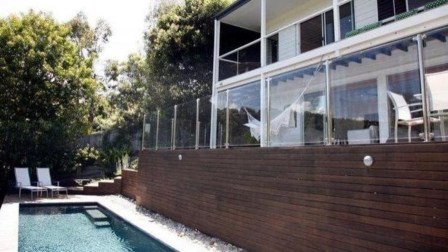 The Noosa home Gabriel Macht has invited Meghan Markle and Prince Harry to stay in. Picture: Realestate.com.au.