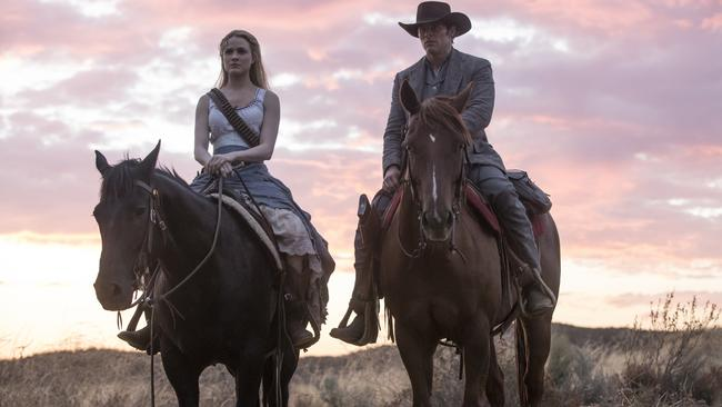 Evan Rachel Wood gives a phenomenal performance in Westworld