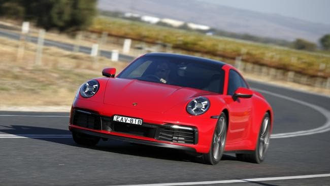 The Porsche 911 is one of the best driving cars in the world.