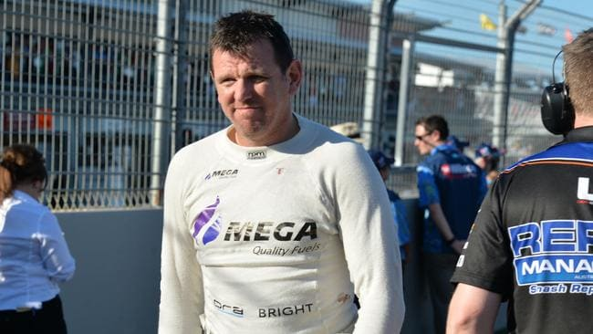 Jason Bright will retire from full-time Supercars racing after 2017. Pic: Fiona Harding