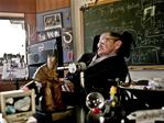 Professor Stephen Hawking sits in his office at University of Cambridge, Cambridge, England, 12/2011. Hawking is Director of Research for the Department of Applied Mathematics and Theoretical Physics and founder of the Centre for Theoretical Cosmology. Picture: Supplied