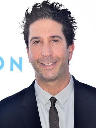 The real David Schwimmer.